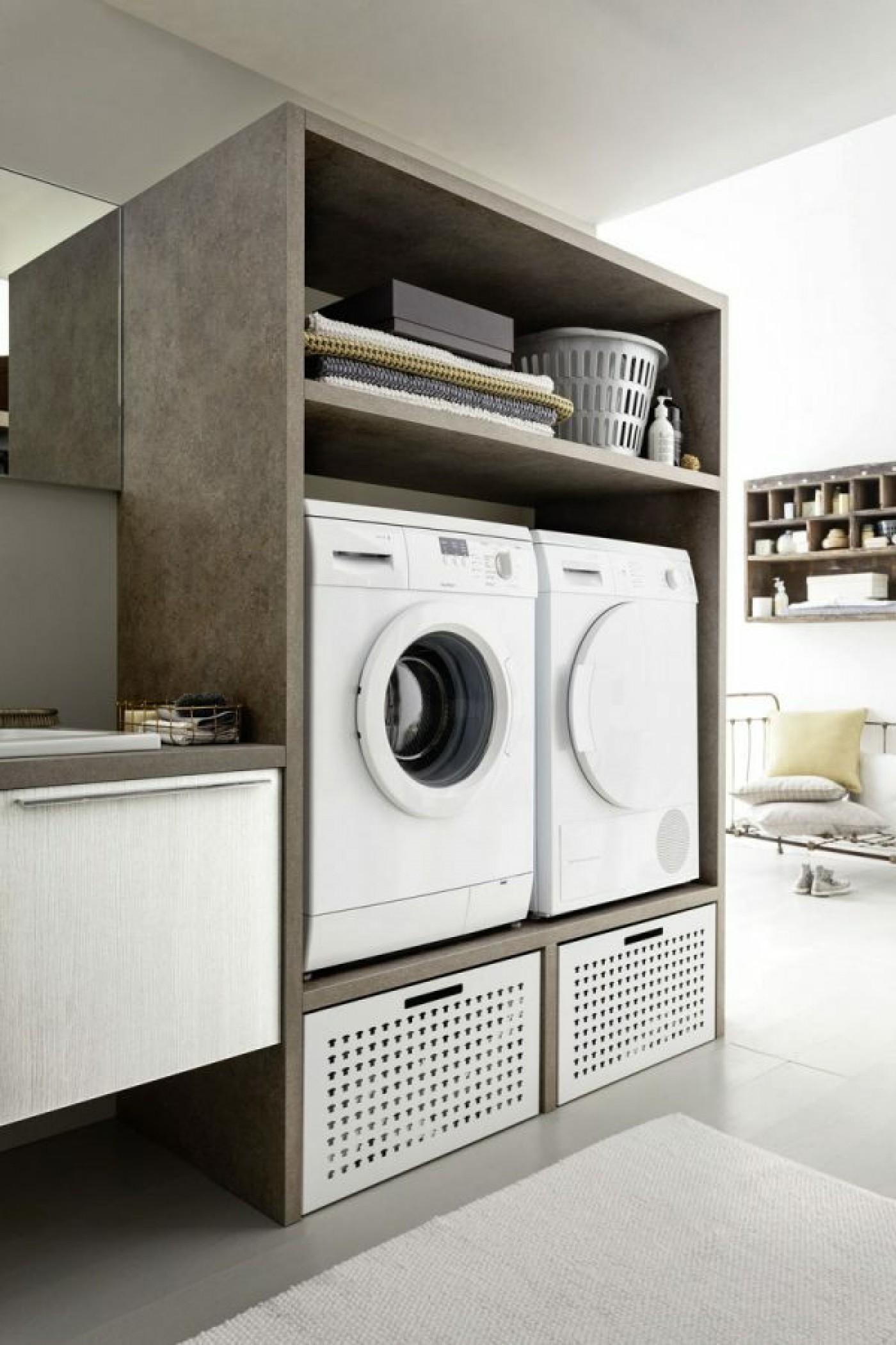 Bagno Lavanderia | Total Home Design