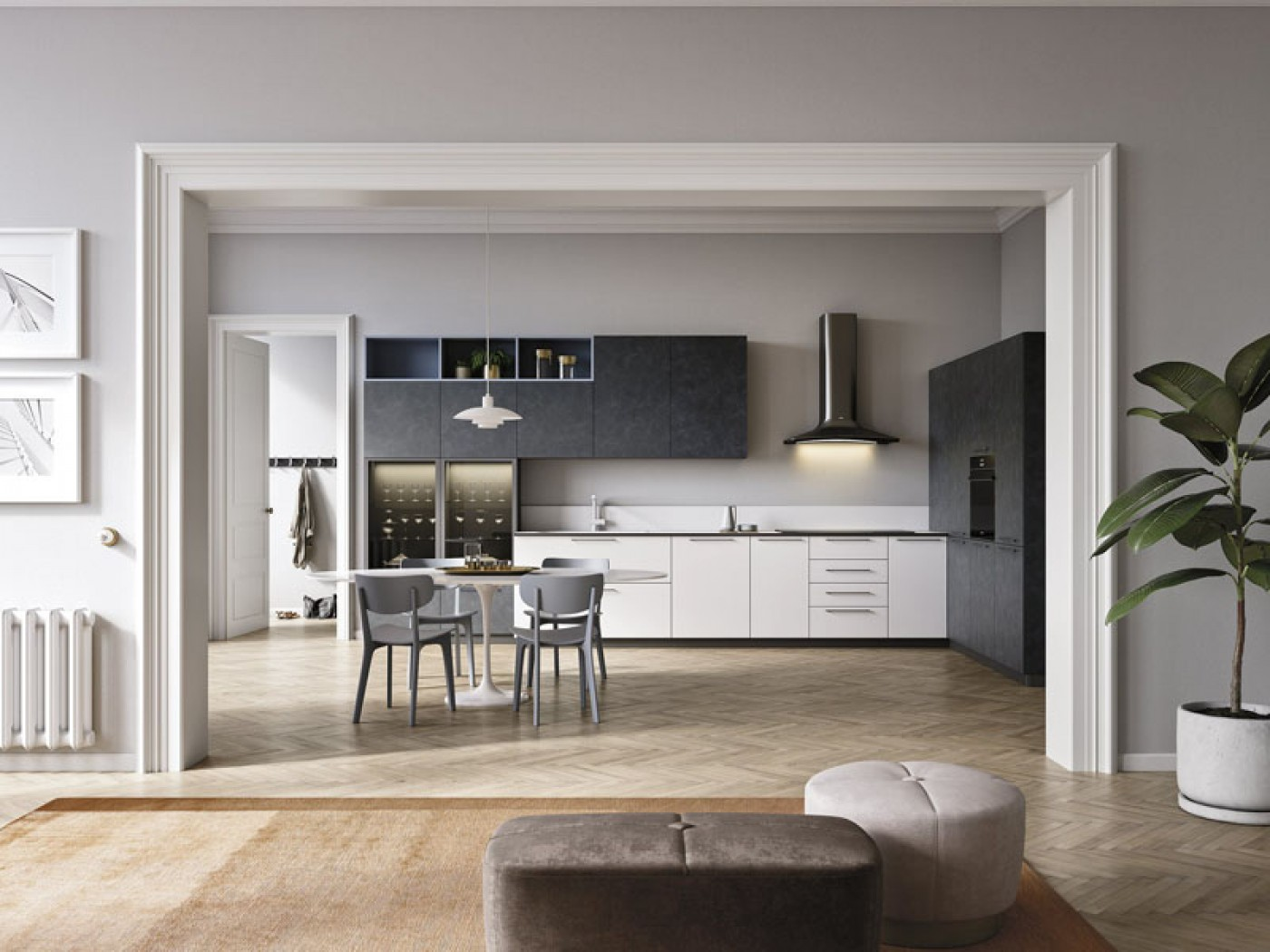 Cucine Lineari Lissone | Total Home Design